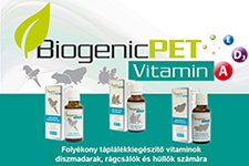 BiogenicPet folyékony vitaminok: hiánypótló kis kiszerelések!