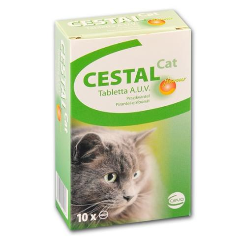Cestal Cat tabletta 10x