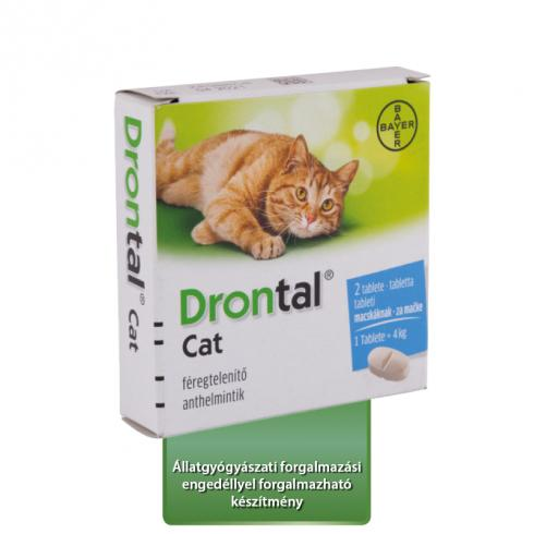 Drontal Cat tabletta 1x