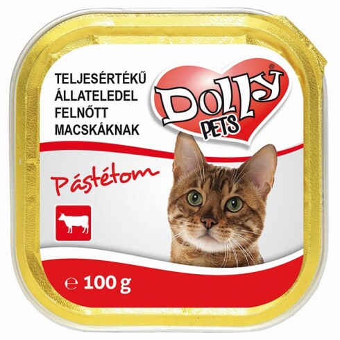 Dolly Cat Alutálka Marhás 100gr