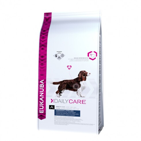 Eukanuba Daily Care Overweigt/Sterilised 12,5kg