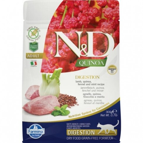 N&D Cat Quinoa Digestion bárány 300g