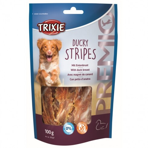 Trixie Jutalomfalat Premio Ducky Stripes Light 100gr