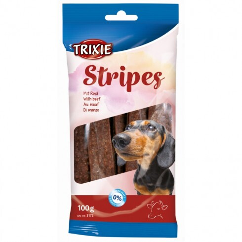 Trixie Jutalomfalat Stripes Lightmarhás 10db-Os 100g