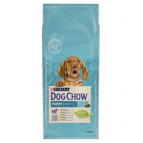 Purina Dog Chow Puppy Bárány 2X14kg