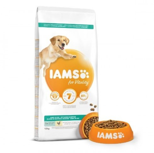 Iams Dog Adult Light Sterilized/Overweight 12kg